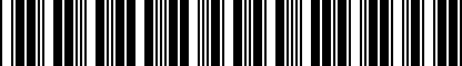 Barcode for ZVW355011