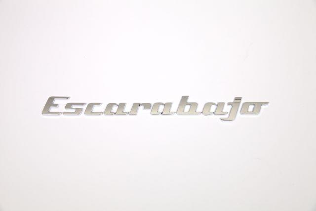 Diagram Decklid Nickname Inscription - Escarabajo - Chrome (5C0071801L) for your Volkswagen Beetle Convertible